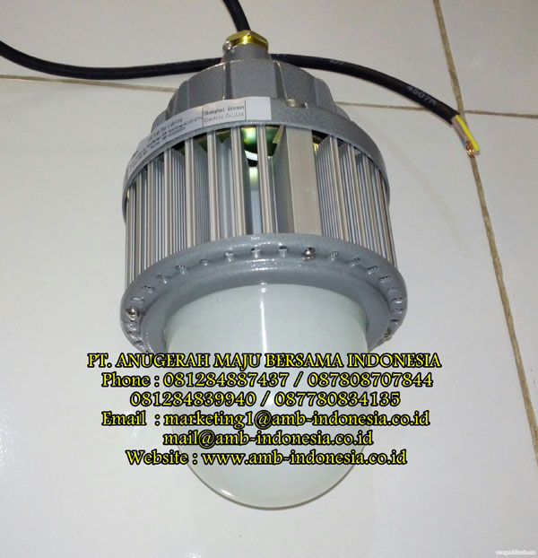 Led High Bay With Emergency: Jual Lampu Led Emergency Exit Lamp Explosion