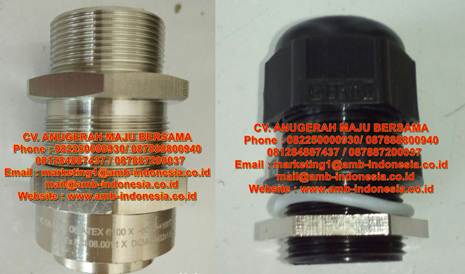 Armoured and unarmoured Explosion protected cable glands