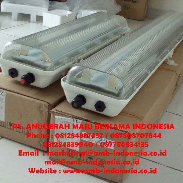 Fluorescent Lamp GRP Warom Explosion Proof