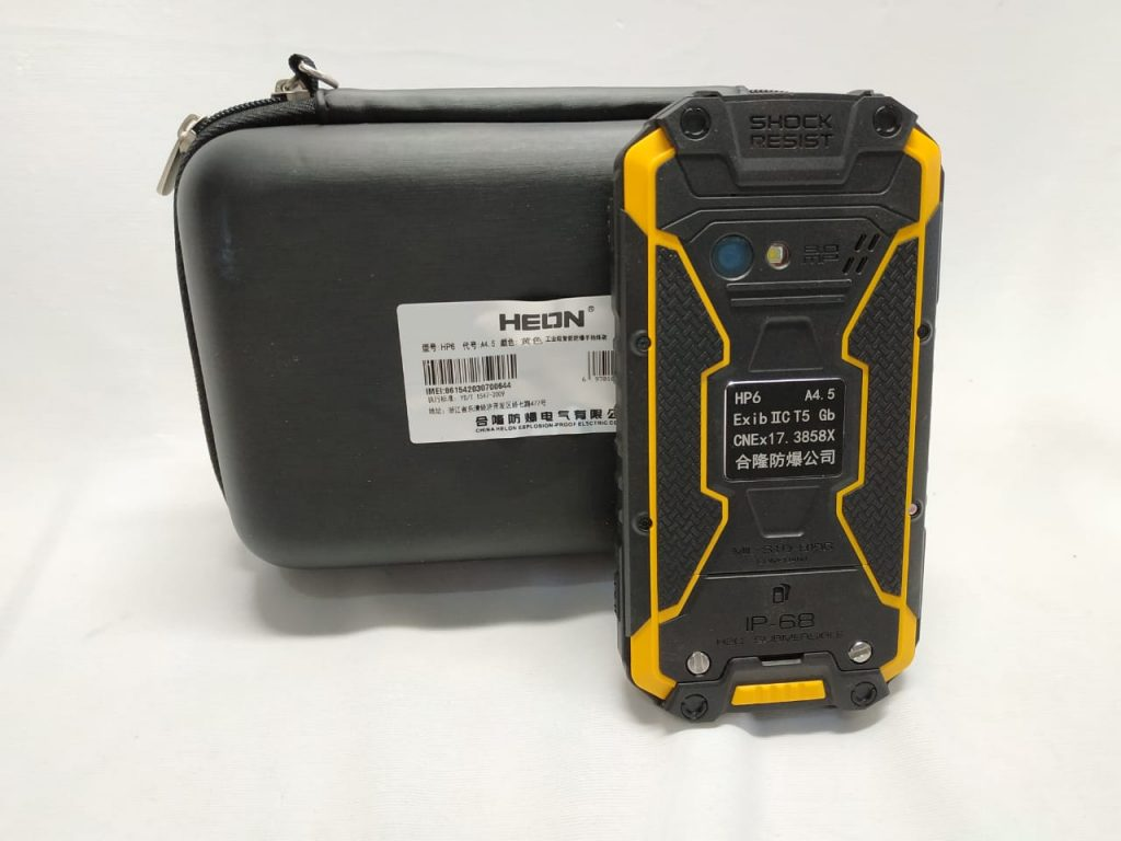 HELON HP6-A4.5 Series Explosion Proof Hand Phone Cellular